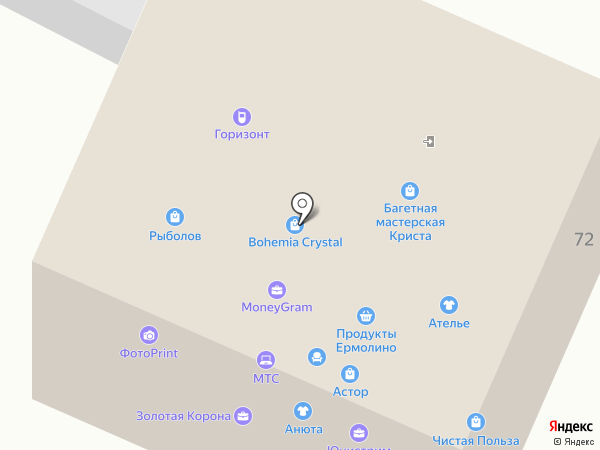 КриСта на карте Нижневартовска