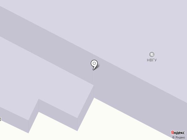 Нижневартовский государственный университет на карте Нижневартовска