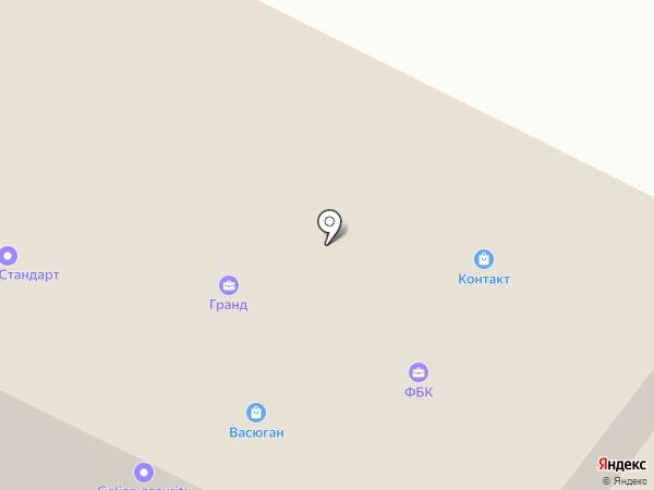 Нижневартовский Бетонный Завод на карте Нижневартовска