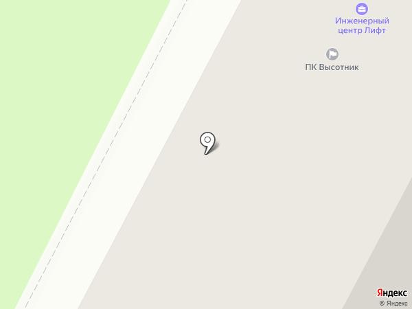 Лифт на карте Нижневартовска