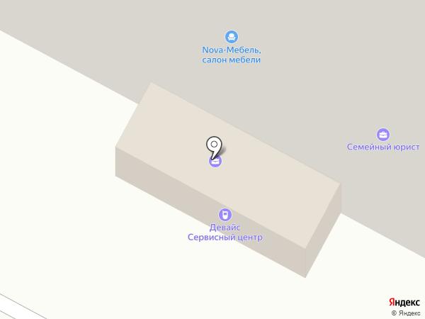 Nova-Мебель на карте Нижневартовска