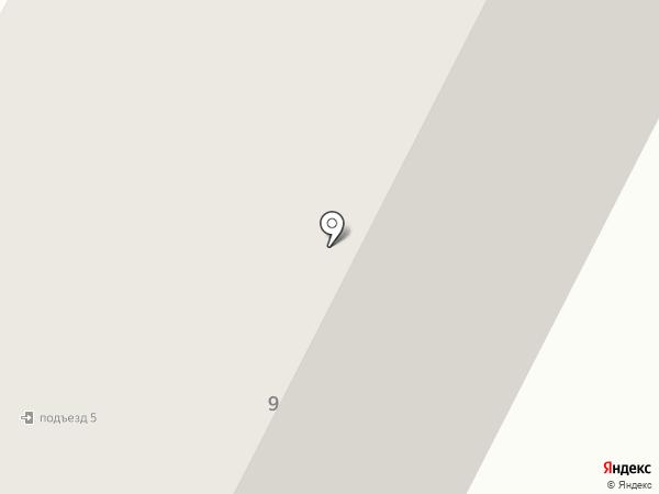 Еликострой на карте Нижневартовска