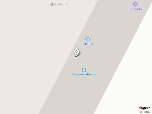 Кассовик на карте Нижневартовска