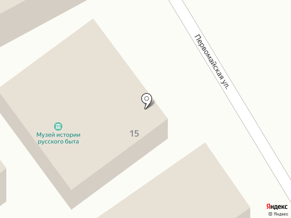 Музей истории русского быта на карте Нижневартовска
