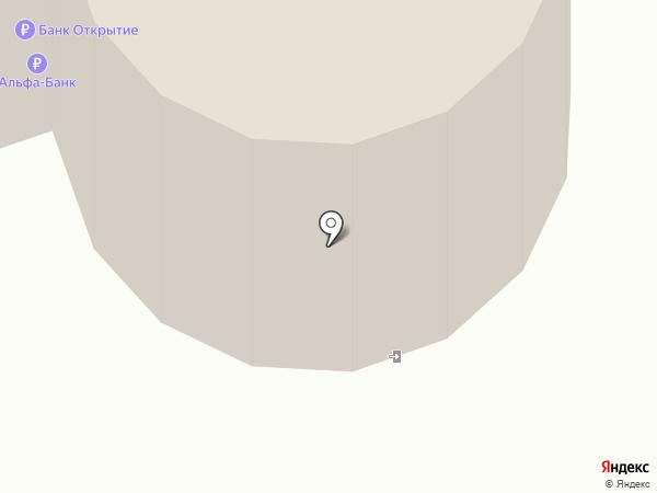 Пушистый клубок на карте Нижневартовска