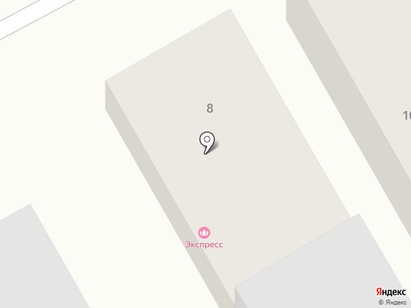 Баня-гостиница на карте Нижневартовска