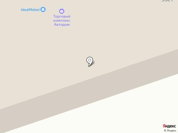 Автодом на карте Нижневартовска