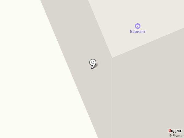 ВАРИАНТ на карте Нижневартовска