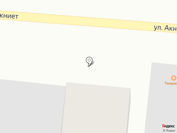 Медицинский пункт с. Кемертоган на карте Кемертогана