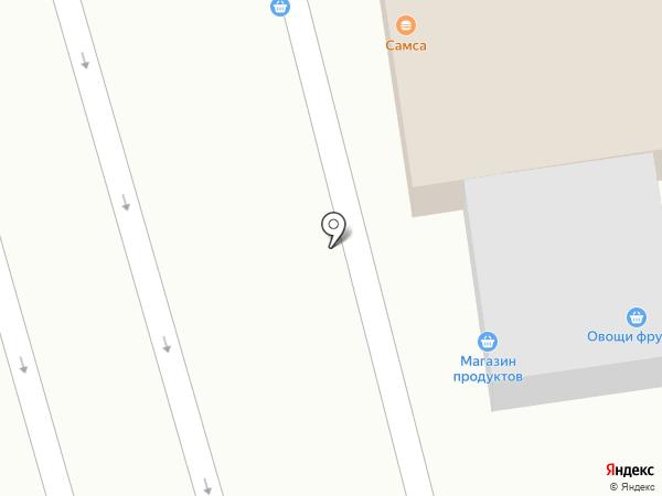 Продовольственный магазин на карте Иргелей