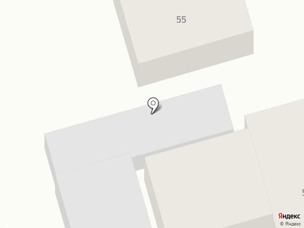 Продовольственный магазин на ул. Кунаева на карте Абая