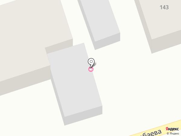 Эльвира на карте Абая