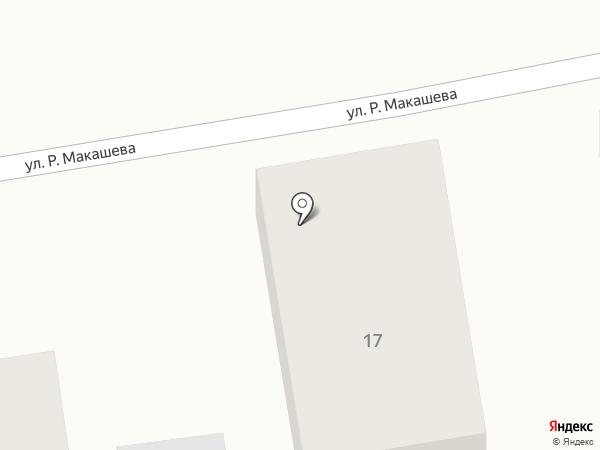 Сулу на карте Абая