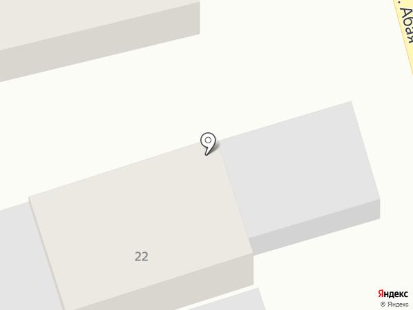 B-Clay на карте Абая