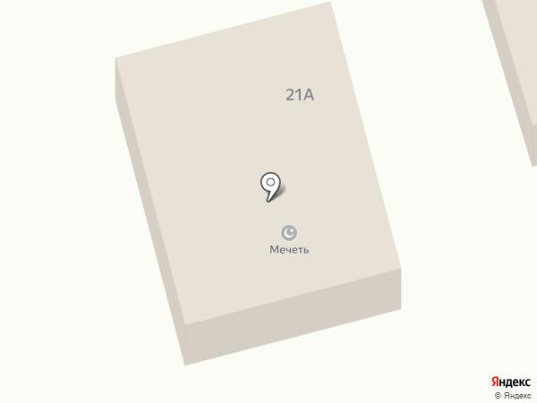 Шабдарулы Смагул–Сарсенбайулы Еркенбай, мечеть на карте Абая