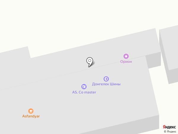 Данияр на карте Алматы
