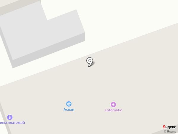 Аспан на карте Коксая