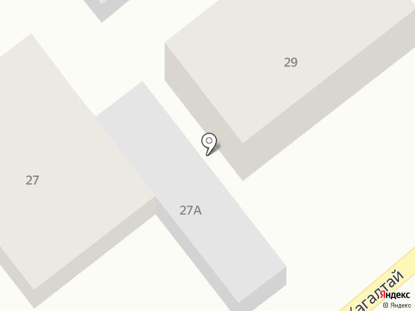Маруп на карте Алматы