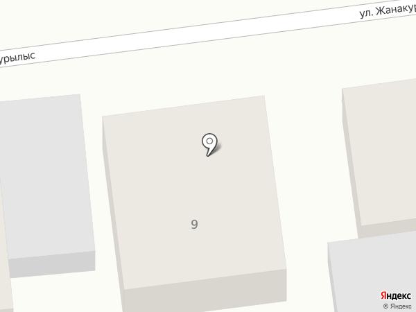 Stickerbox.kz, ТОО на карте Алматы