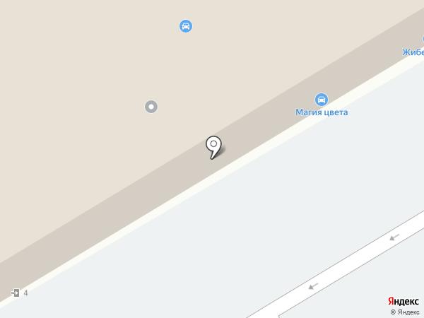 LADA, Renault на карте Алматы