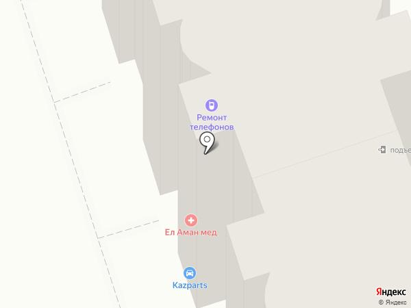 KAZ PARTS, ТОО на карте Алматы