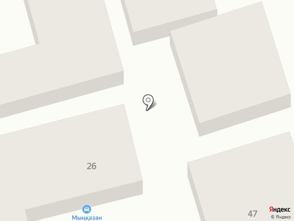 Мынказан на карте Алматы