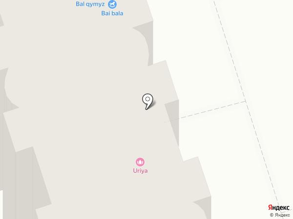 Uriya на карте Алматы