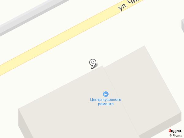 СТО на карте Таусамалы