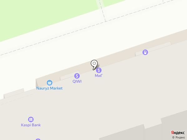 Банкомат, Цеснабанк на карте Алматы