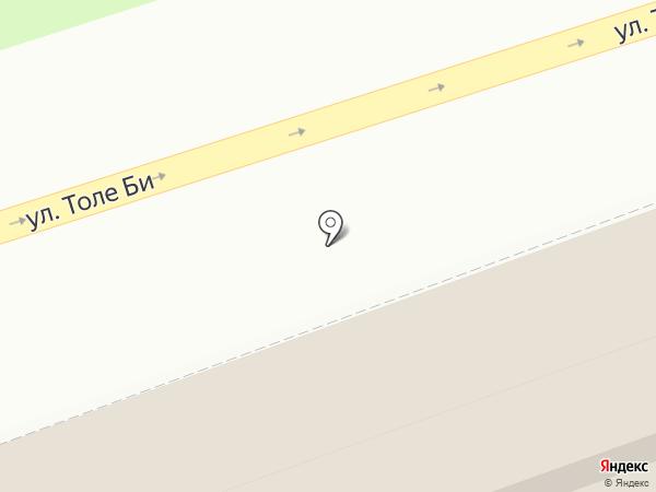 Магазин канцелярии на карте Алматы