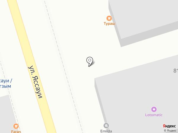 ТУРАШ на карте Алматы