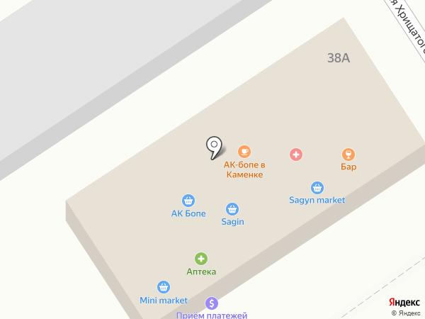 ТАТ WEB, ТОО на карте Алматы