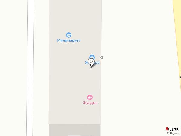 Жулдыз на карте Алматы