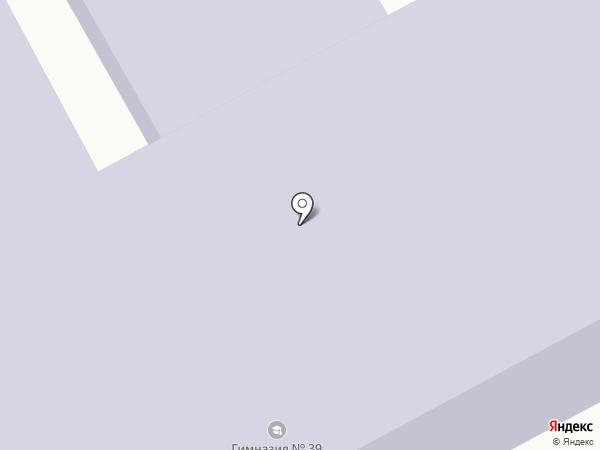 Гимназия №39 на карте Боралдая