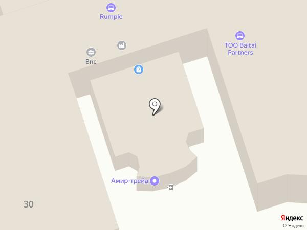 ЭКО-Парк на карте Алматы