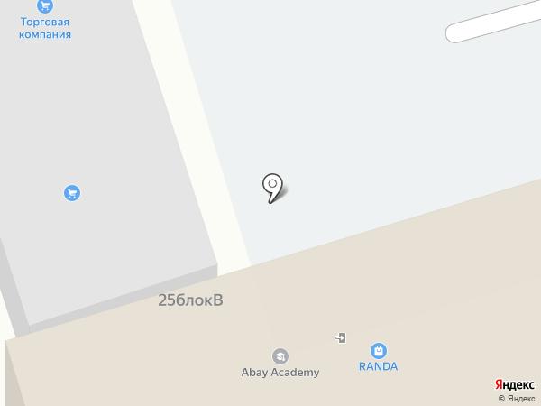Nova Education на карте Алматы