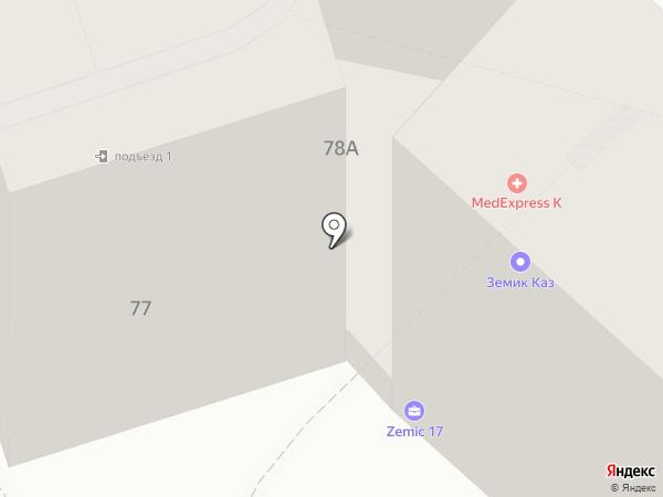 Zemic KZ, ТОО на карте Алматы
