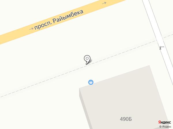 Olympic.KZ.Oil, ТОО на карте Алматы