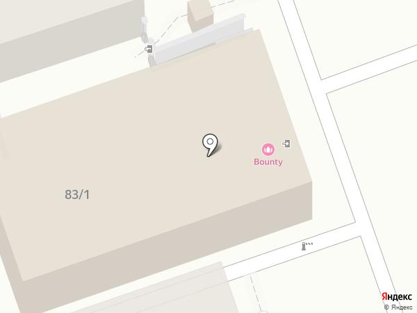 Bounty на карте Алматы
