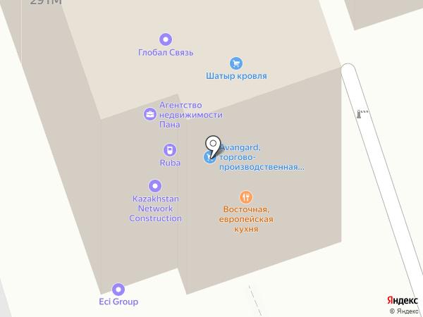 Торговый дом UNEX, ТОО на карте Алматы