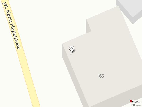 Жибек на карте Алматы