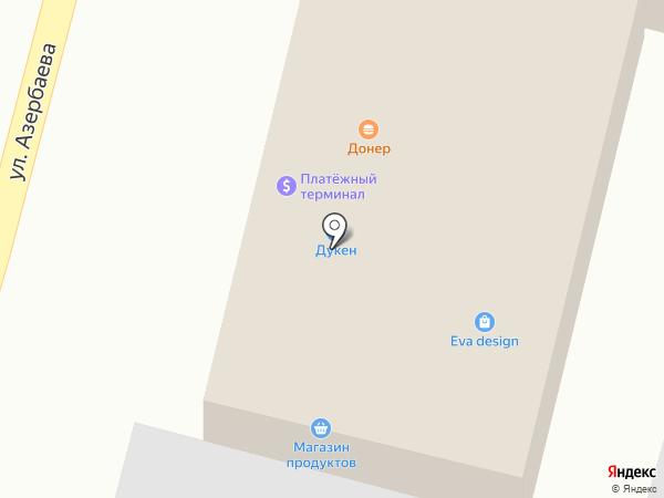 МПС на карте Боралдая