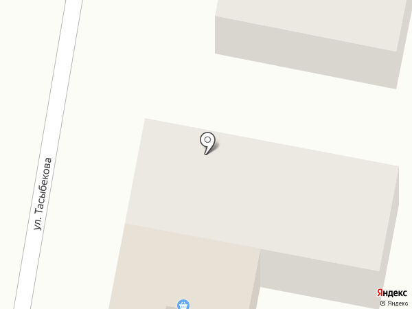 Дин-Асыл на карте КазЦика