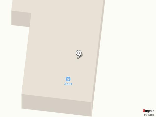 Алия на карте Комсомола
