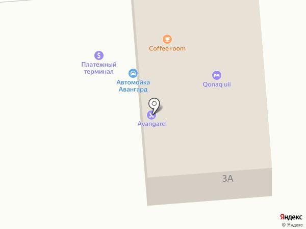 Avangard на карте Боралдая