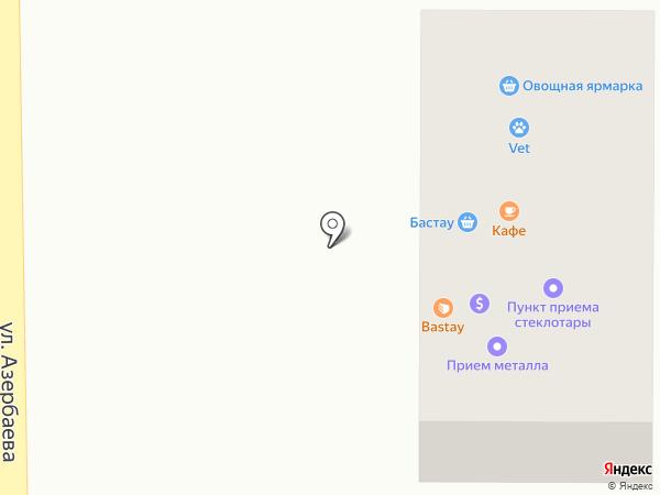 Бастау на карте Боралдая