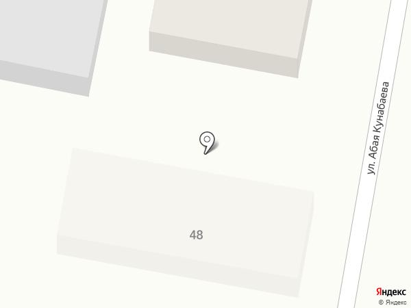 Байжан на карте Комсомола