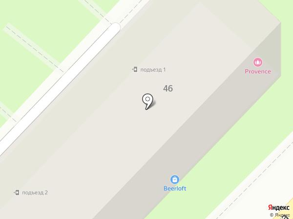 Авесса на карте Алматы