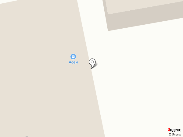 Асем на карте Боралдая