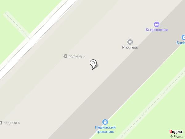Модный дом на карте Алматы